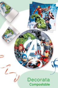 Avengers Fight Compostable by Procos