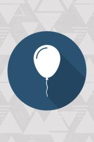 Kokliko Balloons, Happy Birthday Decorata Balloons by Procos