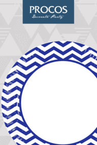 Blue Chevron by Procos