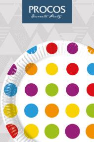 Bright Color Dots by Procos