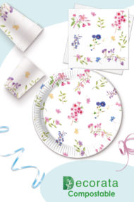 Blooming Flowers Compostable by Procos