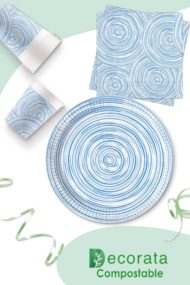 Blue Circles Compostable by Procos