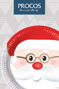 Cheerful Santa by Procos