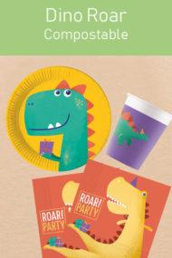 Decorata™ Compostable Dinosaur Roar by Procos