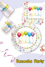 Happy Birthday Streamers by Procos
