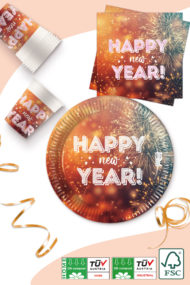 Happy New Year Compostable by Procos