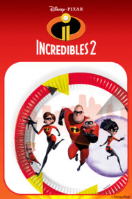 Disney Pixar Incredibles 2 by Procos