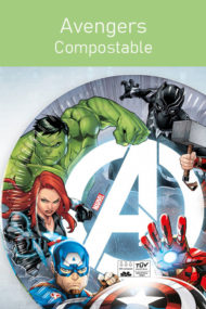 Avengers Fight - Compostable by Procos