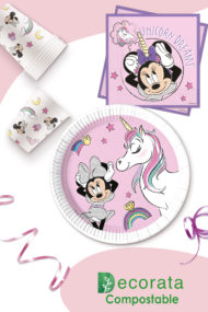Minnie Unicorn Dreams Compostable by Procos