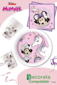 Decorata™ Compostable Minnie Unicorn Dreams by Procos