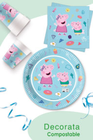 Peppa Pig Star Shine Compostable by Procos