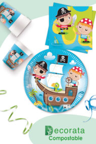 Pirates Treasure Hunt Compostable by Procos