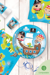 Pirates Compostable by Procos