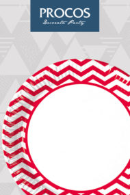 Red Chevron by Procos