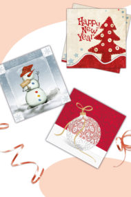 Seasonal Napkin Designs by Procos