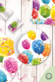 Sparkling Balloons No Plastic Film by Procos