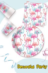Tropical Flamingo Compostable by Procos