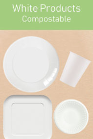 Decorata™ Compostable White Products by Procos