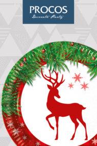 Xmas Scandi Deer by Procos