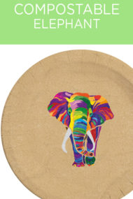 Decorata™ Compostable Elephant by Procos