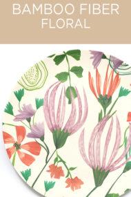 Decorata™ Bamboo Fiber Floral Set by Procos