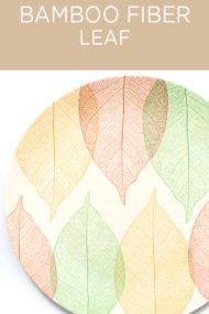 Decorata™ Bamboo Fiber Leaf Set by Procos