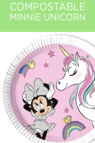 Decorata™ Compostable Minnie Unicorn Dreams by Procos
