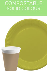 Decorata™ Compostable Solid Colour Collection by Procos
