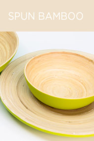 Decorata™ Spun Bamboo Products by Procos