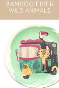 Decorata™ Bamboo Fiber Wild Animals Set by Procos