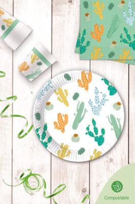 Decorata™ Compostable Cacti by Procos