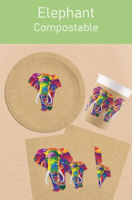 Decorata™ Compostable Elephant by Procos