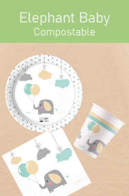 Elephant Baby Compostable by Procos