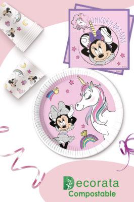 Minnie Unicorn Dreams Compostable by Procos