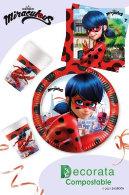 Miraculous Ladybug Compostable by Procos
