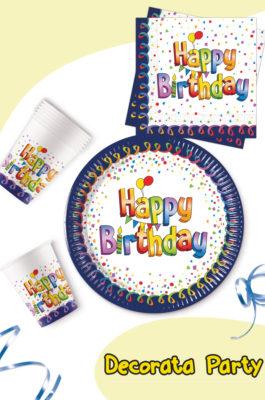 Multicolor Happy Birthday by Procos