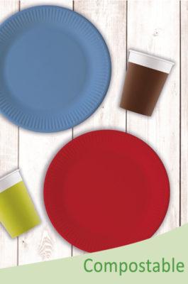 Solid Color Compostable by Procos