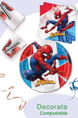 Spider-Man Superhero Compostable by Procos