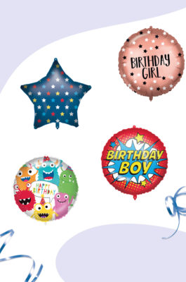 Standard & Shaped Foil Balloons by Procos