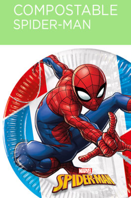 Decorata™ Compostable Spider-Man Super Hero  by Procos