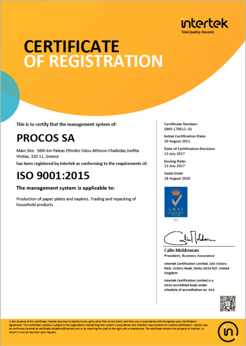 Iso 9001 2015 Exp 2020 08 18