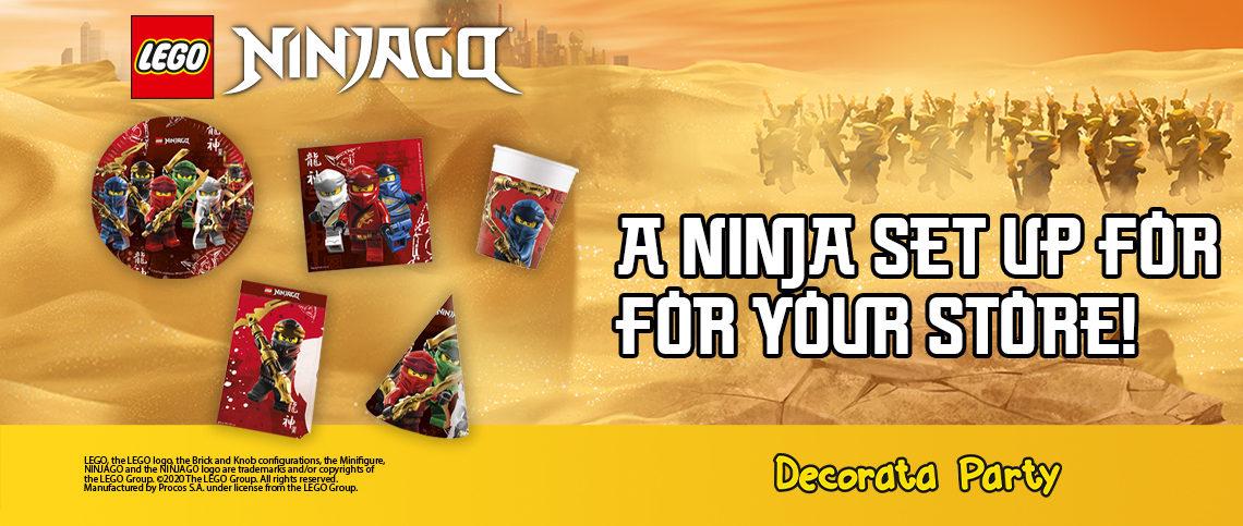 Lego Ninjago Action Range!