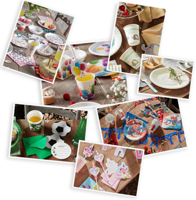 Procos partyware; everything you need for a fabulous party.