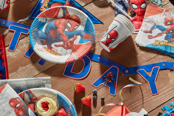 A party range with Spider-Man!