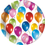 Balloons Fiesta - Paper Plates Large 23cm - 2230