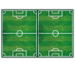 Football Party - Plastic Tablecover 120x180cm - 86871