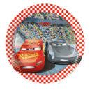 Cars 3 - Paper Plates Medium 20 cm - 87921