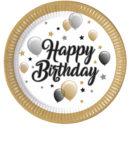 Milestone - Paper Plates 23 cm Balloons - 88861