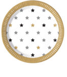 Milestone - Paper Plates 23 cm Stars - 88874