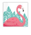 Flamingo - Two-Ply Paper Napkins 33x33 cm - 89594